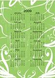 Kalender voor volgend jaar Stock Fotografie