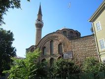 Kalenderhane清真寺在伊斯坦布尔,土耳其 库存图片
