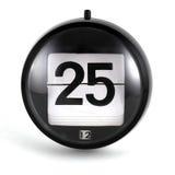 kalenderjuldag royaltyfria bilder
