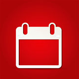 Kalenderpictogram Stock Afbeeldingen