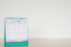 Kalenderseite im weißen Ton Lizenzfreies Stockbild
