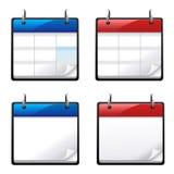 kalendersymboler Royaltyfria Foton
