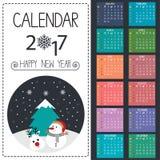 Kalendervektor Lizenzfreie Stockfotografie