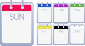 kalendrar Arkivfoton