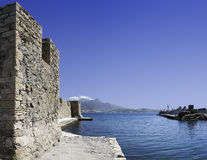 Kales Fort in Lerapetra portside Royalty Free Stock Images