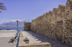 Kales Fort in Lerapetra Side on View Stock Images