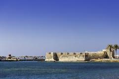 Kales Fort in Lerapetra Royalty Free Stock Photo