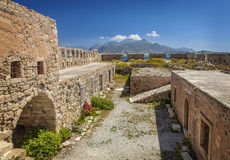 Kales fortress Crete Royalty Free Stock Photo