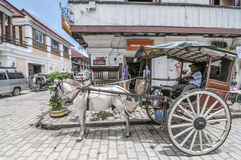 Kalesa operator (Horse carriage) Stock Photography