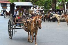 Kalesa Ride Royalty Free Stock Images
