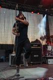 Kalevala hms @ Malpaga Folk and Metal Fest BG 29-07-2018. Bergamo, Italy - July 29, 2018: The Italian Folk Rockers band KALEVALA HMS performs at 6th Folk and Stock Images