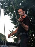 Kalevala hms @ Malpaga Folk and Metal Fest BG 29-07-2018. Bergamo, Italy - July 29, 2018: The Italian Folk Rockers band KALEVALA HMS performs at 6th Folk and Stock Image