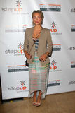 Kaley Cuoco arriving at StepUp Women's Network Inspiration Awards Royalty Free Stock Images