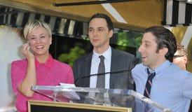 Kaley Cuoco & cast of The Big Bang Theory Stock Photos