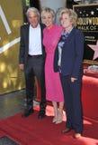 Kaley Cuoco & parents Royalty Free Stock Image
