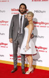 Kaley Cuoco and Ryan Sweeting Stock Photography