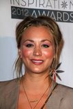 Kaley Cuoco at the Step Up Women Network 9th Annual Inspiration Awards, Beverly Hilton Hotel, Beverly Hills, CA 06-08-12 Stock Photography
