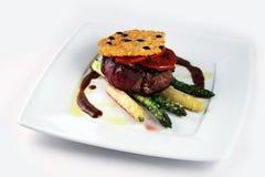 Kalfsvlees met groenten Stock Foto's