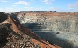Kalgoorlie超级坑矿,西澳州 免版税库存照片