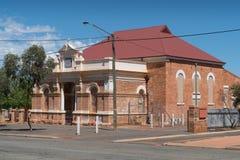 Kalgoorlie, Western Australia. KALGOORLIE, AUSTRALIA - JANUARY 27, 2018: Historic buildings of the city of Kalgoorlie on January 27, 2018 in Western Australia Stock Photo