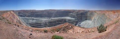 kalgoorlie kopalni jama super zdjęcia stock