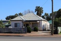 Home in Kalgoorlie in Western Australian outback. Kalgoorlie, part of the City of Kalgoorlie-Boulder, is a city in the Goldfields-Esperance region of Western Royalty Free Stock Image