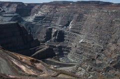 Kalgoorlie Super Pit. View inside the Kalgoorlie Super Pit gold mine Stock Photography