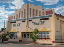 Kalgoorlie, Western Australia. KALGOORLIE, AUSTRALIA - JANUARY 27, 2018: Historic buildings of the city of Kalgoorlie on January 27, 2018 in Western Australia Royalty Free Stock Photos