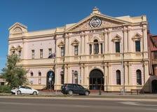 Kalgoorlie, Western Australia. KALGOORLIE, AUSTRALIA - JANUARY 27, 2018: Historic buildings of the city of Kalgoorlie on January 27, 2018 in Western Australia Stock Photos