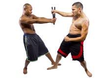 Kali Escrima Arnis Martial Artists Stock Photography
