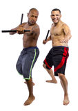 Kali Escrima Instructor and Student Stock Photography