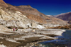 Kali-Gandaki Gorge. The Kali Gandaki Gorge or Andha Galchi is the gorge of the Kali Gandaki river in the Himalayas in Nepal, by some measures the deepest gorge Royalty Free Stock Photos