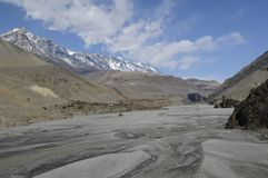 Kali-Gandaki gorge,Mustang Royalty Free Stock Images
