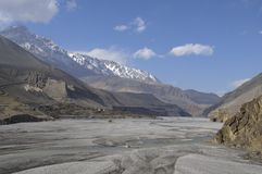 Kali-Gandaki gorge,Mustang Stock Photo