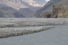 Kali-Gandaki gorge,Mustang Royalty Free Stock Photos