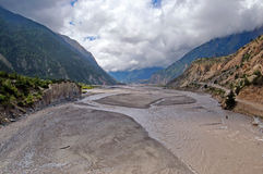 Kali Gandaki Gorge, Nepal Stock Photography