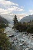 Kali Gandaki River in the Himalayas Royalty Free Stock Photo