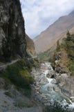 Kali Gandaki River in the Himalayas Royalty Free Stock Image
