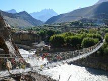 Kali Gandaki river in Kagbeni, Nepal Royalty Free Stock Image