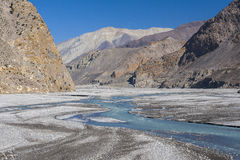 Kali Gandaki is a river in Nepal and India, a left tributary of Royalty Free Stock Images