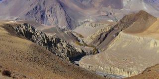 Kali Gandaki River Valley Fotos de archivo
