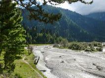 Kali Gandaki river valley, Nepal Stock Images
