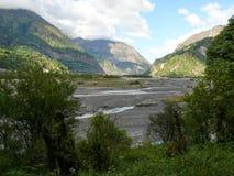 Kali Gandaki river valley, Nepal Royalty Free Stock Image