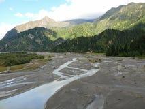 Kali Gandaki river valley, Nepal Stock Image
