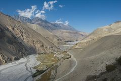 Kali Gandaki valley Stock Images