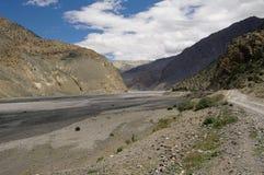 Kali Gandaki valley above Jomson Stock Image