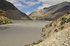 Kali Gandaki valley above Jomson Royalty Free Stock Image