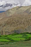 Kali Gandaki valley above Jomson Royalty Free Stock Photo