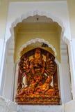 Kali God Statue på det Mehrangarh fortet fotografering för bildbyråer