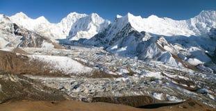 Kali Himal, beautiful mountain in Khumbu valley Stock Images